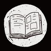 Doodle book — Stock Vector