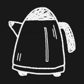 嘟嘟水壶 — 图库矢量图片