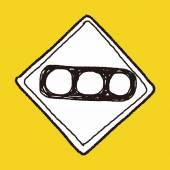 Traffic light doodle — Wektor stockowy
