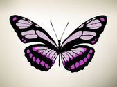 Butterfly. Vector illustration — Stock Vector