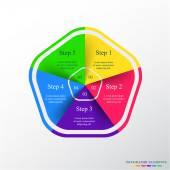 Wektora infographic — Wektor stockowy