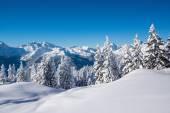 Krajobraz gór śnieg — Zdjęcie stockowe