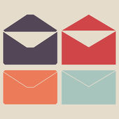 Mail icon vector — Stock Vector