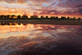 Enchanting sunset — Stock Photo