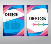 Business brochure Infographic  design — Stock Vector