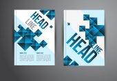 Flyer design templates — Stock Vector