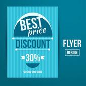 Creative Sale Flyers — Wektor stockowy