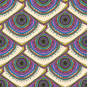 Ornament beautiful pattern with mandala — Stockvector