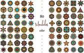 Mandala Card Set — Stock Vector