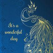 Beautiful  card — Stock Vector
