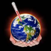 Globalne ocieplenie — Zdjęcie stockowe