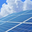 Solar power for electric renewable energy from the sun — Stock Photo #64870023