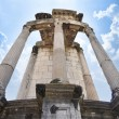 Temple of Vesta, site for the Sacred Fire tended by the Vestal Virgins — Stock Photo #64878181