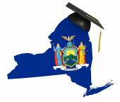 New York state college and university education — Stock Photo