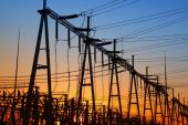 The power supply facilities — Stock Photo