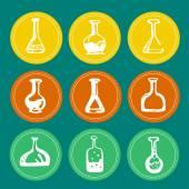 化学测试管 — 图库矢量图片