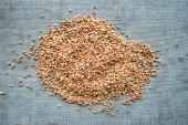 Buckwheat closeup — Stock Photo
