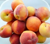Delicious peaches — Stock Photo