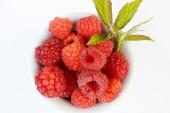 Tasty, ripe raspberry close-up — Stock Photo
