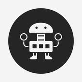 Robot icon — Stock Vector