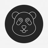 Animal line icon — Stock Vector