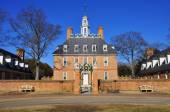 The Governor's Palace in Colonial Williamsburg Virginia — Stock Photo