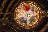The Palais Garnier, Opera de Paris, interiors and details — Stock Photo