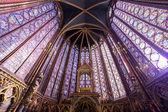 The Sainte Chapelle, Paris, France — Foto Stock