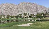 Pga West golf course, Palm Springs, California — Stock Photo