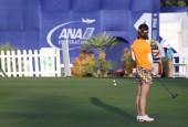 Putting green na Ana inspirace golfový turnaj 2015 — Stock fotografie