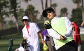 Michelle Wie at the ANA inspiration golf tournament 2015 — Stock Photo