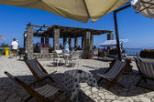 カプリ島アナカプリでのモンテ ソラーロからのパノラマ — ストック写真