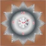 Diamond Clock — Stock Vector #69272295