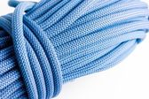 Brand new climbing dynamic rope — Stock Photo