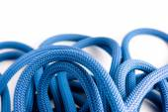 Brand new climbing dynamic rope — Stock Photo