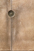 Leather texture and metal detail — Stockfoto