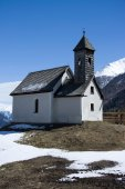 Chapel at the Alp Islitzer, East Tyrol, Austria — 图库照片