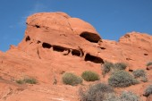 Valley of Fire, Nevada, USA — Stock Photo