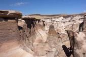 Bisti Badlands, New Mexico, USA — Stock Photo