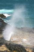 Kauai Spouting Horn — Stock Photo