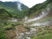 Desolation Valley in Dominica — Stock Photo