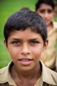 Indiase school jongen — Stockfoto