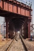 Tunnel of the railway — Stock Photo