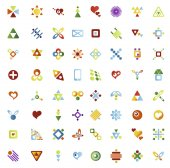 64 vector icons — Stock Vector