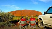Ayers Rock, Northern Territory, Australia — Stock Photo