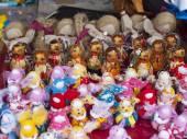 Handmade dolls. — Stock Photo