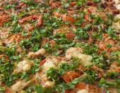 Fresh pizza. — Stock Photo
