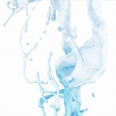 Abstract Splash of Water on a white background — Fotografia Stock