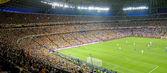 Soccer arena — Stockfoto