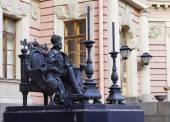 Monument to Paul I in St. Petersburg — Stock Photo